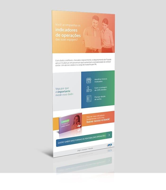 Landing page desenvolvida para apresentação e download do E-book